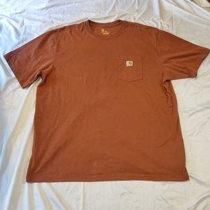 Carhartt Men's Brown T-Shirt